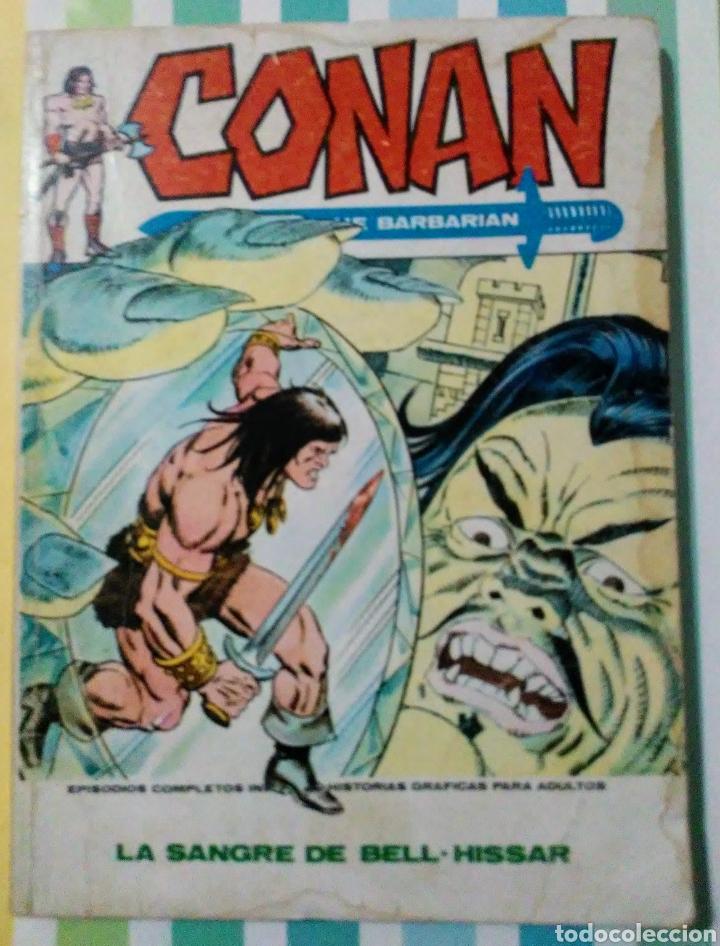 Cómics: lote Conan the barbarian nº 5, 7, 8, 9, 10, 12, 13, 14, 15 y 16 ed, internacionales vertice v.1 - Foto 12 - 212362252