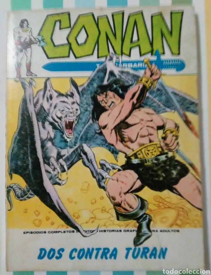 Cómics: lote Conan the barbarian nº 5, 7, 8, 9, 10, 12, 13, 14, 15 y 16 ed, internacionales vertice v.1 - Foto 13 - 212362252