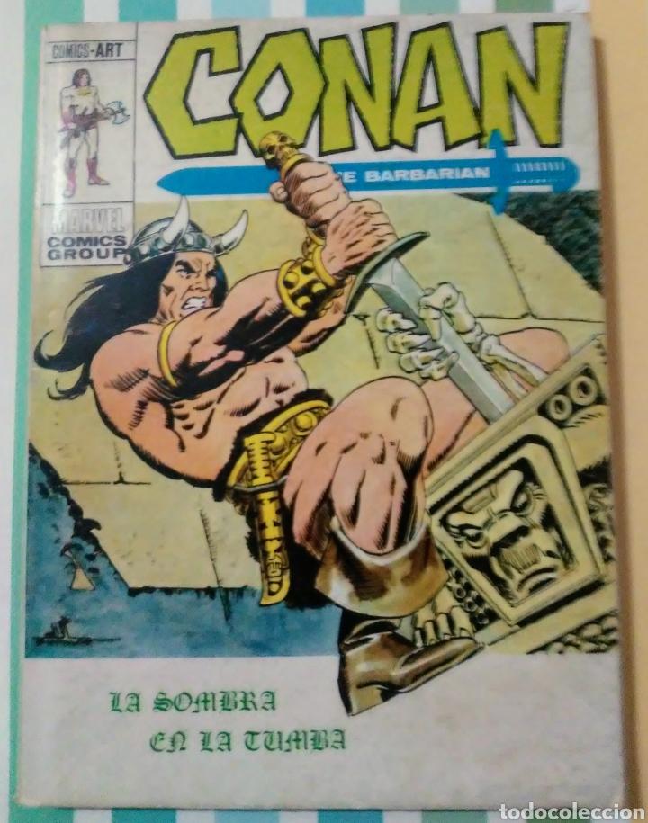 Cómics: lote Conan the barbarian nº 5, 7, 8, 9, 10, 12, 13, 14, 15 y 16 ed, internacionales vertice v.1 - Foto 14 - 212362252