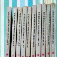 Cómics: LOTE CONAN THE BARBARIAN Nº 5, 7, 8, 9, 10, 12, 13, 14, 15 Y 16 ED, INTERNACIONALES VERTICE V.1. Lote 212362252