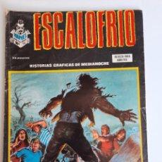Cómics: ESCALOFRIO (1973, VERTICE) 52 · VIII-1976 · ¡FUEGO CRUZADO!. Lote 212406426