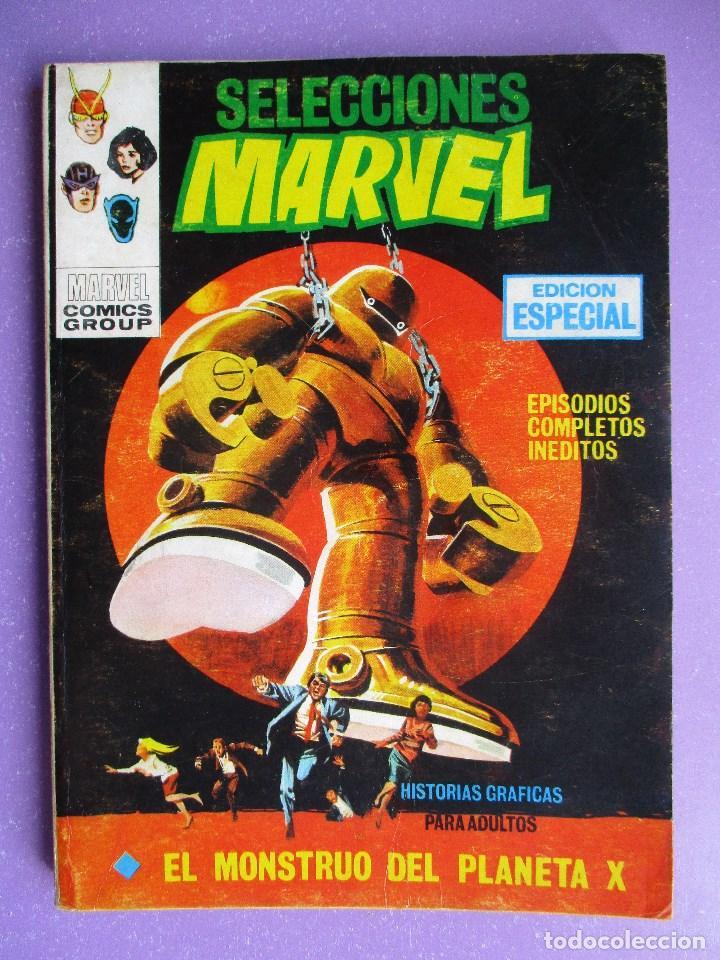 SELECCIONES MARVEL Nº 8 VERTICE TACO ¡¡¡ BUEN ESTADO !!! (Tebeos y Comics - Vértice - V.1)
