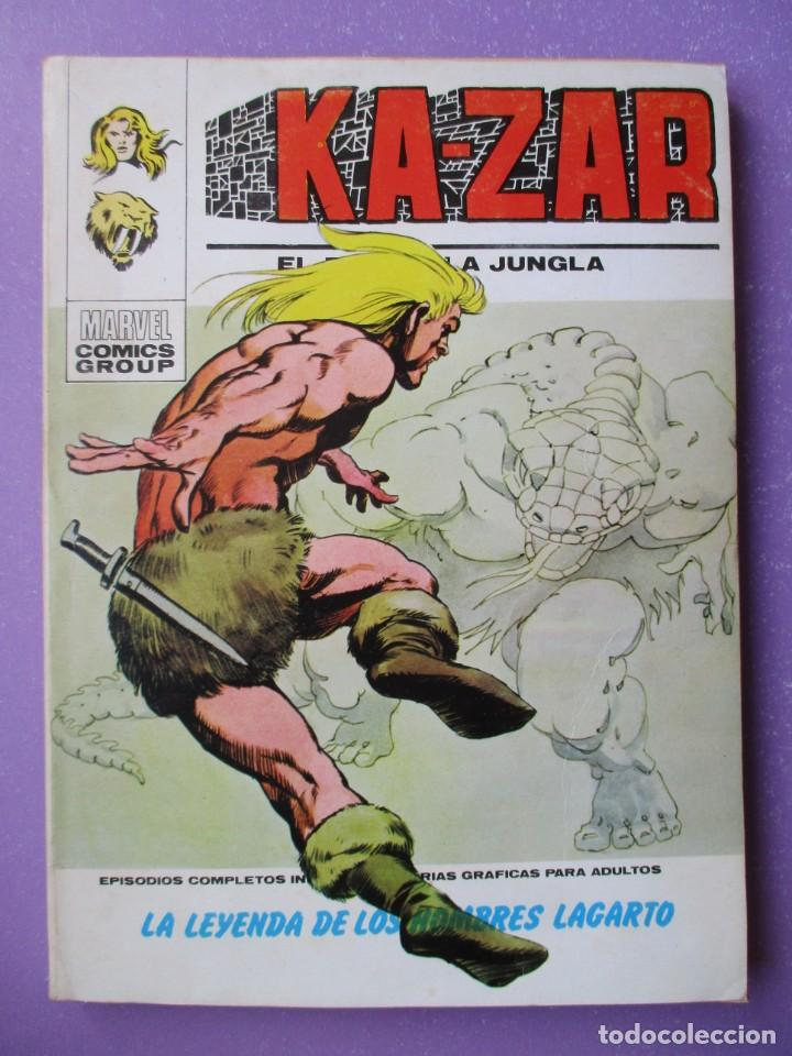 KA ZAR Nº 2 VERTICE TACO ¡¡¡BUEN ESTADO !!! (Tebeos y Comics - Vértice - V.1)