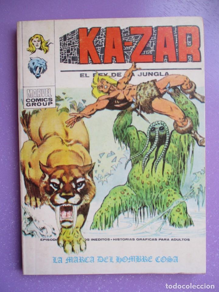 KA ZAR Nº 4 VERTICE TACO ¡¡¡ BUEN ESTADO !!! (Tebeos y Comics - Vértice - V.1)