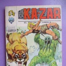 Cómics: KA ZAR Nº 4 VERTICE TACO ¡¡¡ BUEN ESTADO !!!. Lote 213196101