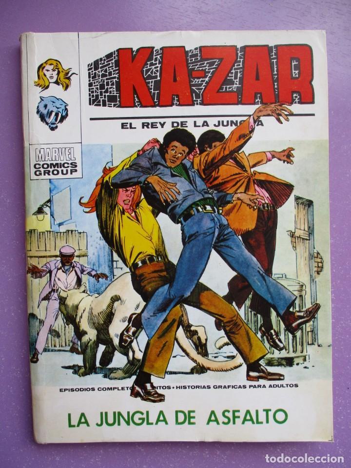KA ZAR Nº 5 VERTICE TACO ¡¡¡ BUEN ESTADO !!! (Tebeos y Comics - Vértice - V.1)