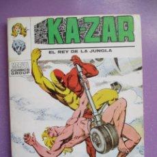 Cómics: KA ZAR Nº 6 VERTICE TACO ¡¡¡ BUEN ESTADO !!!. Lote 213196405