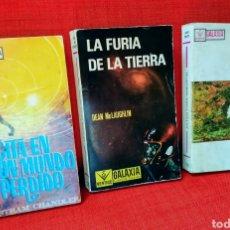 Cómics: LOTE 3 NOVELAS GALAXIA CIENCIA FICCIÓN EDICIONES VÉRTICE AÑOS 60. Lote 213248251