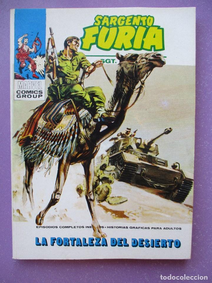 SARGENTO FURIA Nº 6 VERTICE TACO ¡¡¡ IMPECABLE ESTADO!!! (Tebeos y Comics - Vértice - V.1)