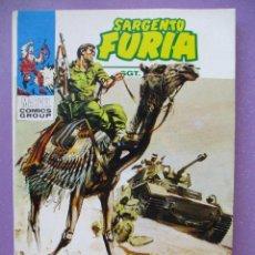 Cómics: SARGENTO FURIA Nº 6 VERTICE TACO ¡¡¡ IMPECABLE ESTADO!!!. Lote 213279767