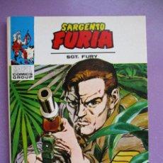 Cómics: SARGENTO FURIA Nº 9 VERTICE TACO ¡¡¡ DE KIOSCO !!!. Lote 213279927