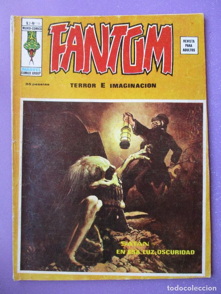 FANTOM Nº 16 VERTICE VOLUMEN 2 ¡¡¡ BUEN ESTADO !!! (Tebeos y Comics - Vértice - V.1)