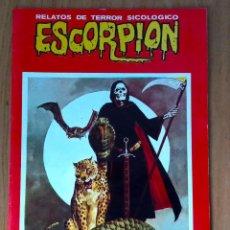 Cómics: ESCORPIÓN N 100 - GRAPA - ED VILMAR EDICIONES 1986- EL NÚLTIMO NÚMERO! MUY BUEN ESTADO. Lote 213458515