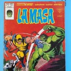 Comics : LA MASA Nº 40 VOL. 3 VÉRTICE ¡EL LOBATO ATACA!. Lote 213640545
