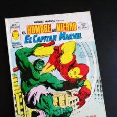 Cómics: MUY BUEN ESTADO HEROES MARVEL 11 VOL II SELLO Y FIRMA DE VERTICE EN PORTADA. Lote 213696137