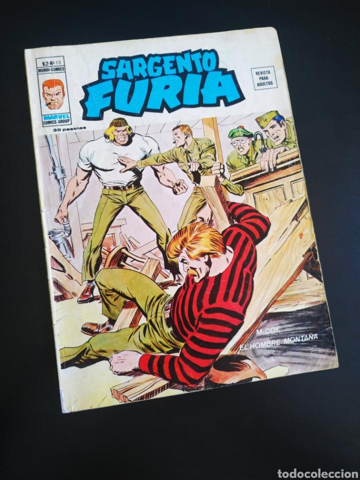 NORMAL ESTADO SARGENTO FURIA 15 VOL II VERTICE (Tebeos y Comics - Vértice - Otros)