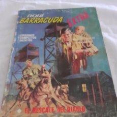 Cómics: AQUI BARRACUDA VERTICE N 5 EL RESCATE DEL DIABLO. Lote 213716988