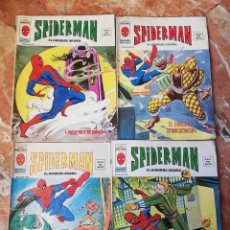 Comics : SPIDERMAN LOTE 4 NÚMEROS VOL 3 COMICS EDITORIAL VÉRTICE AÑOS 70(LEER TEXTO). Lote 213722408