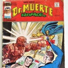 Cómics: DR. MUERTE Y NAMOR (SUPER HÉROES V.2 Nº 65) ~ MARVEL /VÉRTICE. Lote 213736071