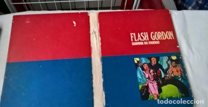 COMICS: FLASH GORDON Nº 7. GUERRA EN MONGO (ABLN) EDICCIONES BURU LAND (Tebeos y Comics - Vértice - Flash Gordon)