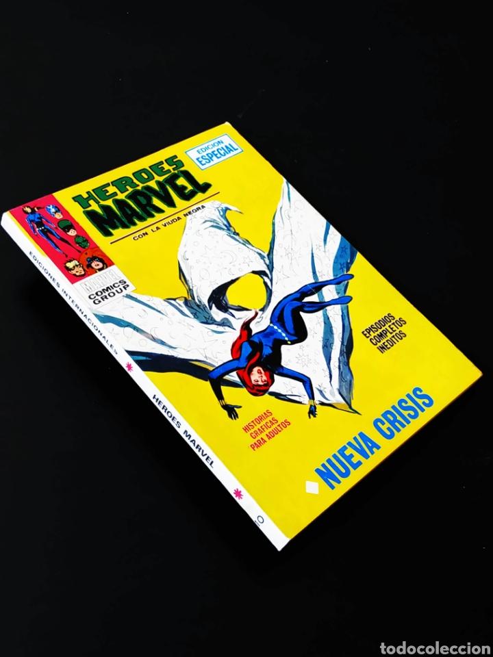 CASI EXCELENTE ESTADO HEROES MARVEL 10 VERTICE TACO (Tebeos y Comics - Vértice - Otros)