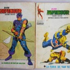 Cómics: LOTE (G) 2 EJEMPLARES DE DAN DEFENSOR, DARE DEVIL - ED. VERTICE, BARCELONA - PJRB. Lote 214053150