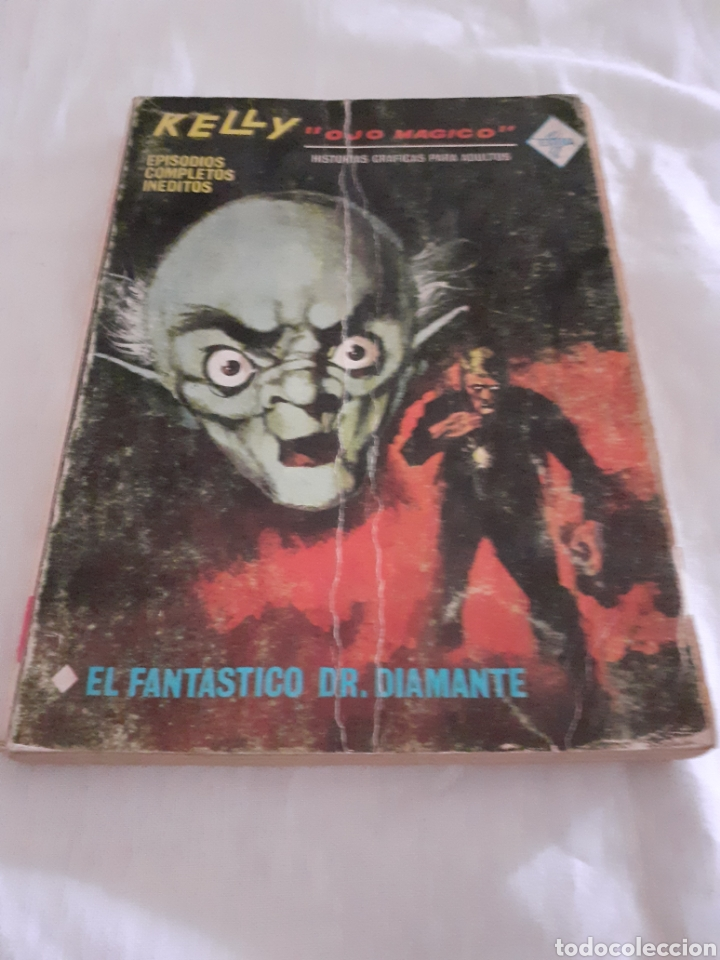VERTICE KELLY OJO MAGICO N8 FANTASTICO DR DIAMANTE (Tebeos y Comics - Vértice - Otros)