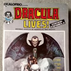 Comics: ESCALOFRÍO PRESENTA DRACULA LIVES (12 NÚMEROS COMPLETA). Lote 214115392