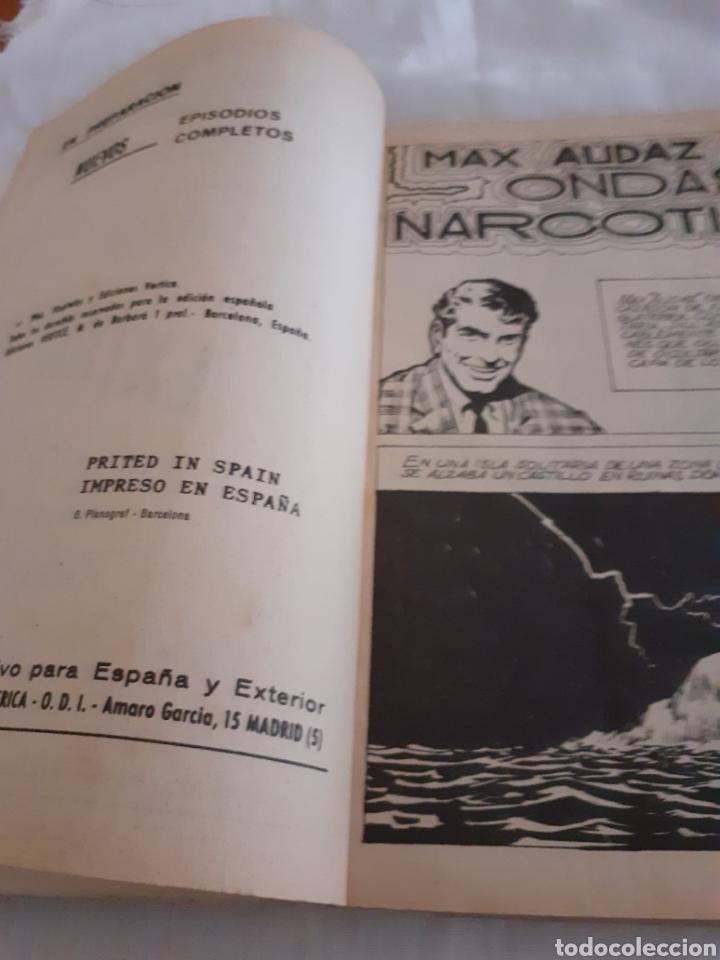 Cómics: VERTICE MAX AUDAZ N 6 ONDAS NARCOTICAS - Foto 6 - 214119940