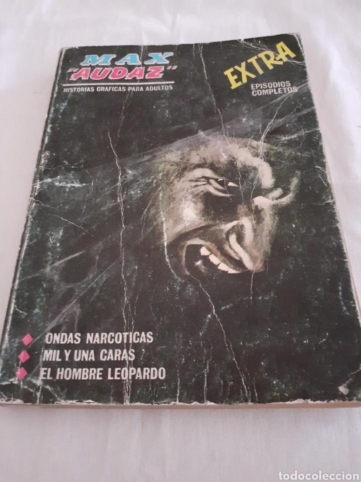 VERTICE MAX AUDAZ N 6 ONDAS NARCOTICAS (Tebeos y Comics - Vértice - Otros)
