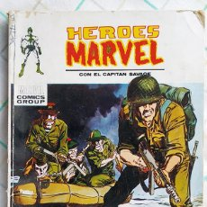 """Cómics: HEROES MARVEL, Nº 12 """"MUERTE DE UN COMANDO"""". Lote 214188287"""