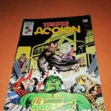 Cómics: TRIPLE ACCION- VOLUMEN 1 Nº 19. EL ORIGEN DE HALCON NOCTURNO. VERTICE GRAPA.. Lote 214249970