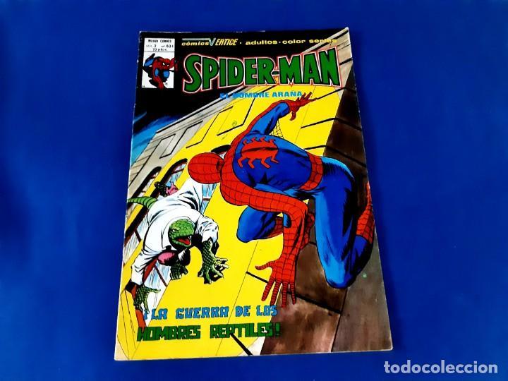 SPIDERMAN Nº 63 VERTICE V.3 EXCELENTE ESTADO (Tebeos y Comics - Vértice - V.3)