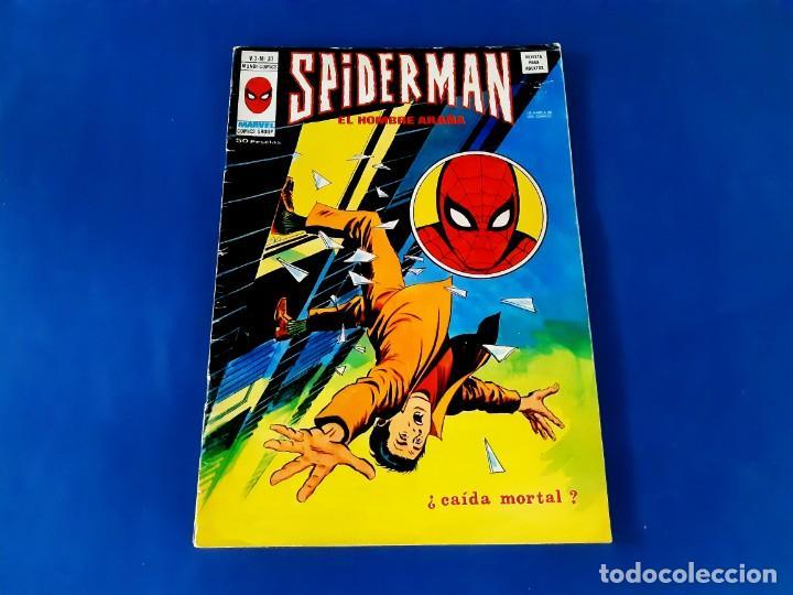 SPIDERMAN Nº 37 VERTICE V.3 (Tebeos y Comics - Vértice - V.3)