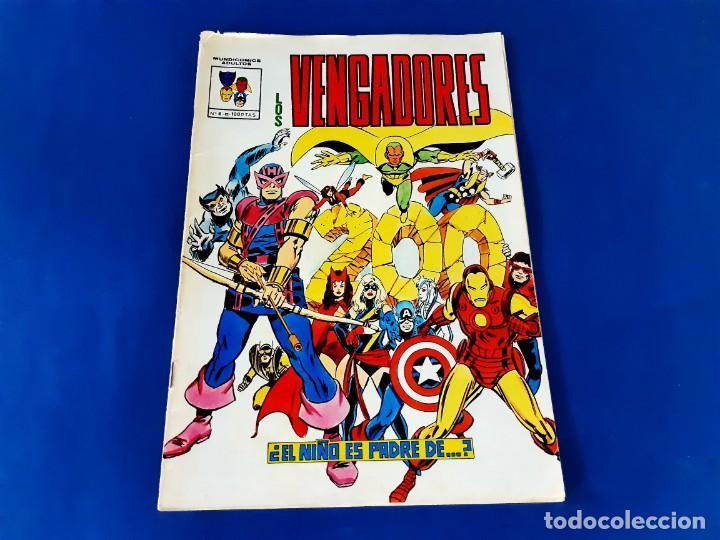 LOS VENGADORES Nº 4 MUNDI COMICS - VERTICE (Tebeos y Comics - Vértice - Vengadores)