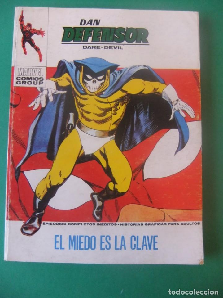 DAN DEFENSOR Nº 40 VERTICE TACO (Tebeos y Comics - Vértice - Dan Defensor)