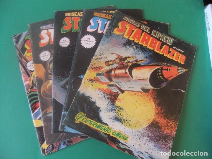 ADISEAS DEL ESPACIO STARBLAZER LOTE DE 5 NUMEROS (Tebeos y Comics - Vértice - Grapa)