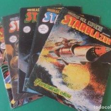 Cómics: ADISEAS DEL ESPACIO STARBLAZER LOTE DE 5 NUMEROS. Lote 214336465
