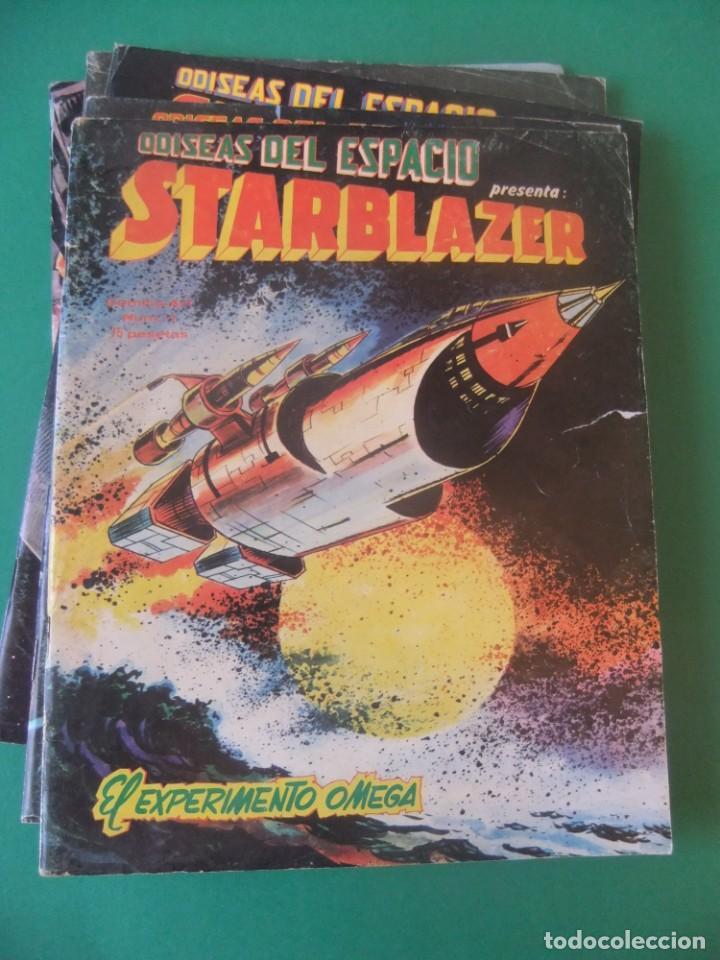 Cómics: ADISEAS DEL ESPACIO STARBLAZER LOTE DE 5 NUMEROS - Foto 2 - 214336465