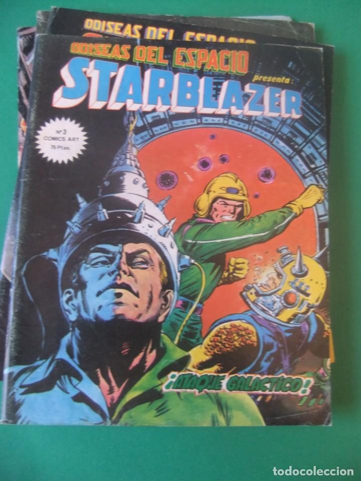 Cómics: ADISEAS DEL ESPACIO STARBLAZER LOTE DE 5 NUMEROS - Foto 3 - 214336465