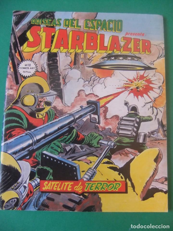 Cómics: ADISEAS DEL ESPACIO STARBLAZER LOTE DE 5 NUMEROS - Foto 6 - 214336465