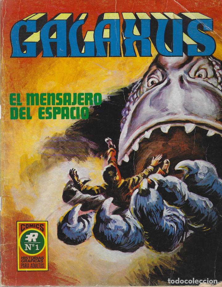 GALAXUS. SERIE COMPLETA: 3 NUMEROS FORMATO GRANDE. SOLANO LOPEZ. FLEETWAY. EDITORIAL ROLLAN 1973 (Tebeos y Comics - Vértice - Fleetway)