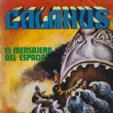 Cómics: GALAXUS. SERIE COMPLETA: 3 NUMEROS FORMATO GRANDE. SOLANO LOPEZ. FLEETWAY. EDITORIAL ROLLAN 1973. Lote 214458621