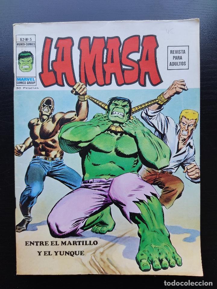 LA MASA Nº 5 - VOL. 2 - MUY BUEN ESTADO - VÉRTICE - ENTRE EL MARTILLO Y EL YUNQUE - NUMERO 5 (Tebeos y Comics - Vértice - La Masa)