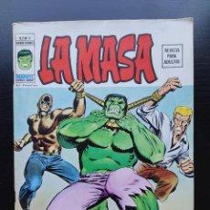 Cómics: LA MASA Nº 5 - VOL. 2 - MUY BUEN ESTADO - VÉRTICE - ENTRE EL MARTILLO Y EL YUNQUE - NUMERO 5. Lote 214458836
