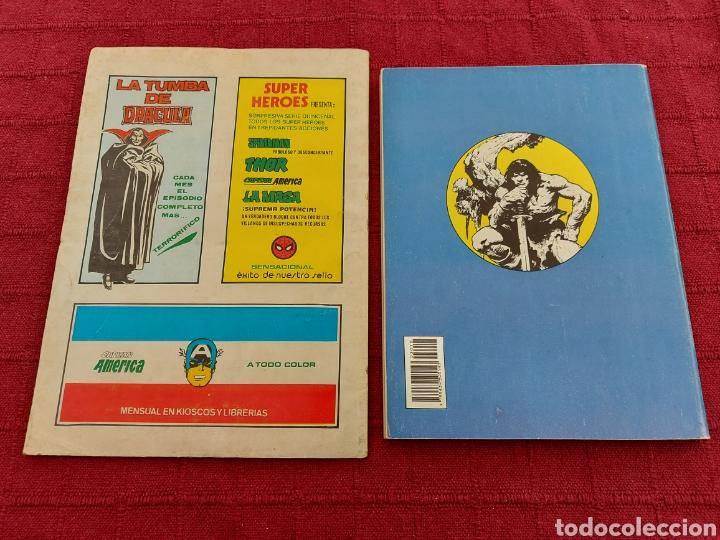 Cómics: CONAN THE BARBARIAN ANUAL 80 -ÁLBUM ESPECIAL LA ESPADA SALVAJE DE CONAN-FANTASIA HEROICA-COMIC FORUM - Foto 4 - 214474293