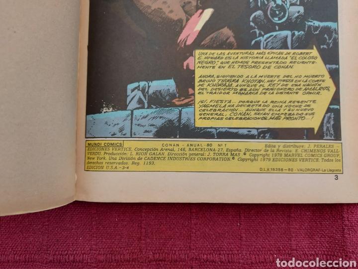 Cómics: CONAN THE BARBARIAN ANUAL 80 -ÁLBUM ESPECIAL LA ESPADA SALVAJE DE CONAN-FANTASIA HEROICA-COMIC FORUM - Foto 9 - 214474293