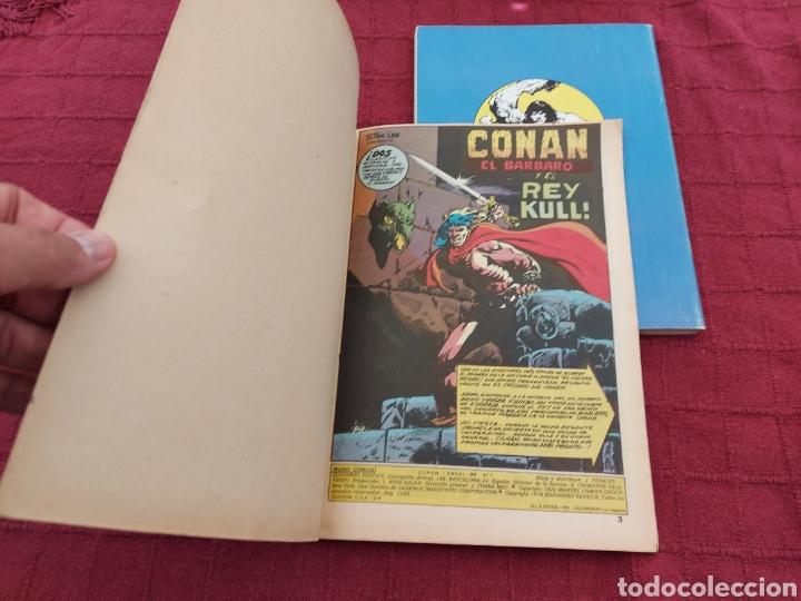 Cómics: CONAN THE BARBARIAN ANUAL 80 -ÁLBUM ESPECIAL LA ESPADA SALVAJE DE CONAN-FANTASIA HEROICA-COMIC FORUM - Foto 10 - 214474293