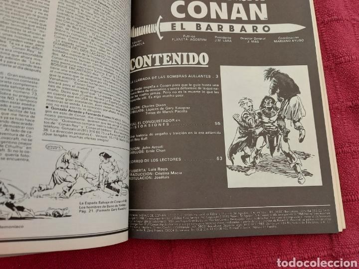 Cómics: CONAN THE BARBARIAN ANUAL 80 -ÁLBUM ESPECIAL LA ESPADA SALVAJE DE CONAN-FANTASIA HEROICA-COMIC FORUM - Foto 13 - 214474293
