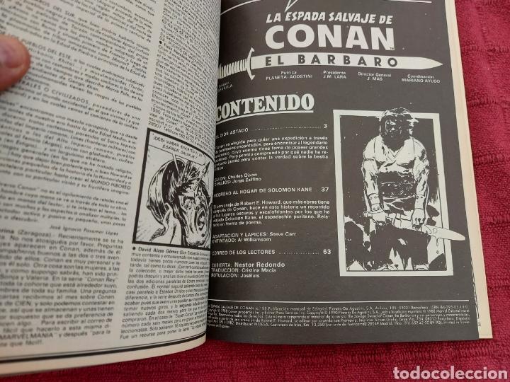 Cómics: CONAN THE BARBARIAN ANUAL 80 -ÁLBUM ESPECIAL LA ESPADA SALVAJE DE CONAN-FANTASIA HEROICA-COMIC FORUM - Foto 14 - 214474293